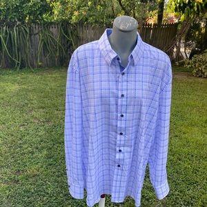 Con.Struct Check 4-Way Stretch Slim Fit Shirt XL